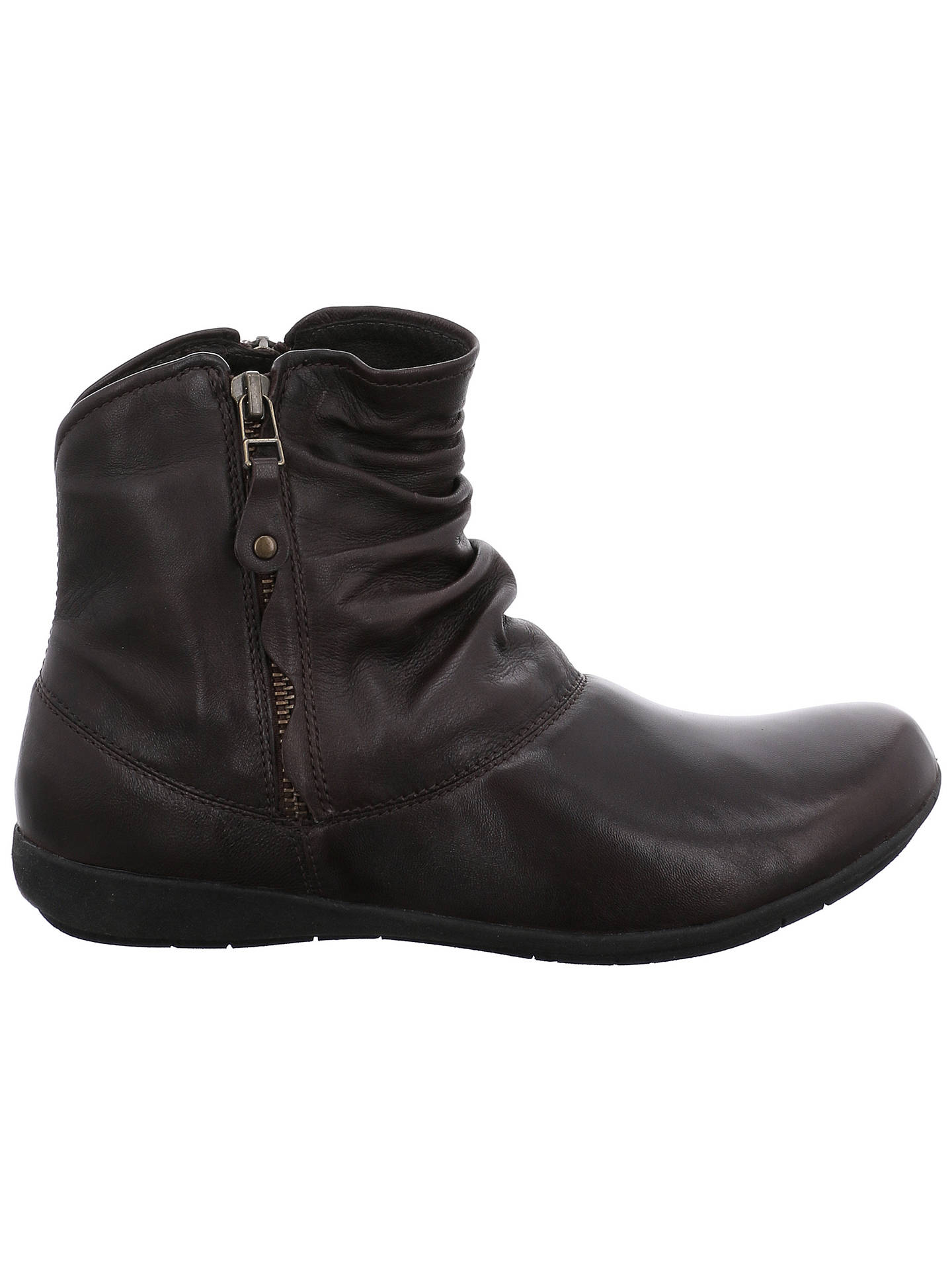 BuyJosef Seibel Faye Ankle Boots, Black, 3 Online at johnlewis.com