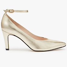 Buy John Lewis Bessie Ankle Strap Court Shoes Online at johnlewis.com