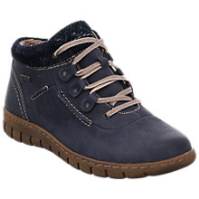 Buy Josef Seibel Steffi 13 Lace Up Ankle Boots, Blue Online at johnlewis.com