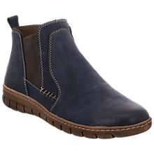 Buy Josef Seibel Steffi 49 Ankle Boots, Blue Online at johnlewis.com