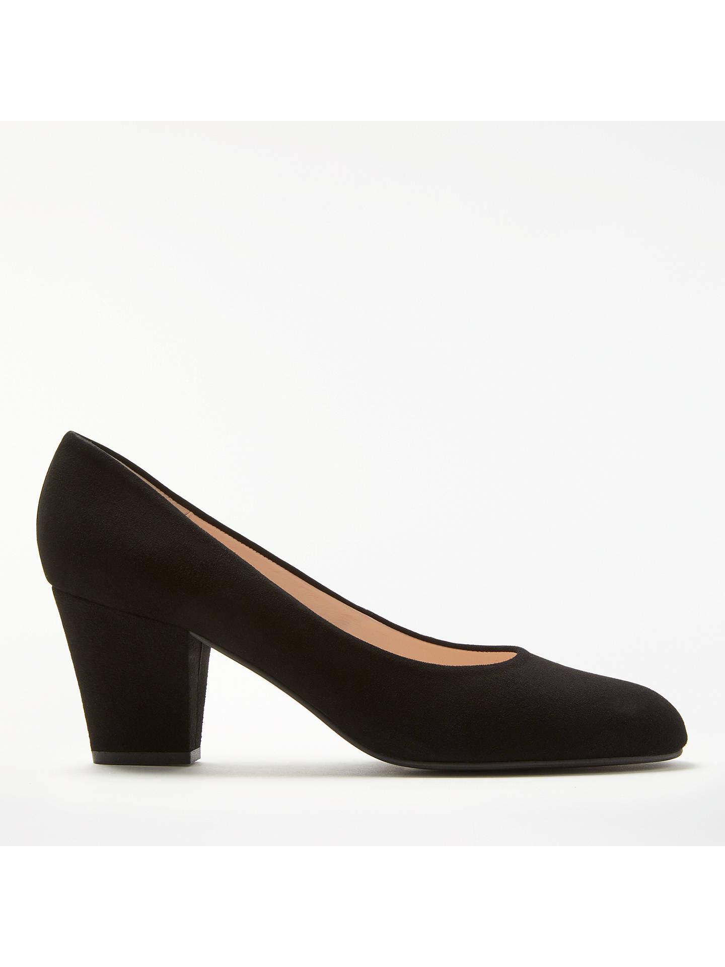 df1977265d7 John Lewis   Partners Alma Block Heel Court Shoes at John Lewis ...