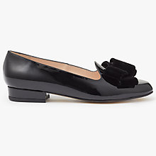 Buy John Lewis Holly Velvet Bow Ballet Shoes Online at johnlewis.com