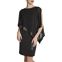 Buy Gina Bacconi Chiffon Sequin Edge Cape Online at johnlewis.com