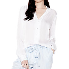Buy Ghost Bronwyn Blouse, White Online at johnlewis.com