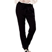 Buy Ghost Peggy Trousers, Black Online at johnlewis.com