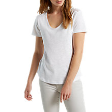 Buy White Stuff Bobble Jersey T-Shirt, White Online at johnlewis.com