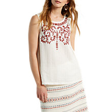 Buy White Stuff Grace Vest, Nude Online at johnlewis.com