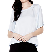 Buy Ghost Rhea Top, Pale Blue Online at johnlewis.com