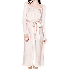 Buy Ghost Meryl Dress, Pale Pink Online at johnlewis.com