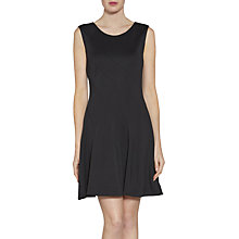 Buy Gina Bacconi Scuba Panel Dress, Black Online at johnlewis.com