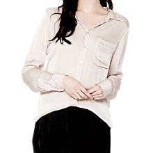 Buy Ghost Pandora Blouse, Nude Online at johnlewis.com