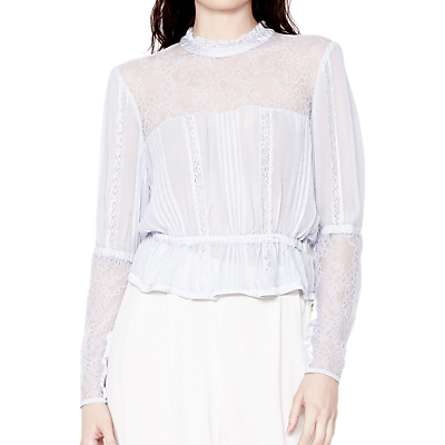 Make an Easy Victorian Costume Dress with a Skirt and Blouse Ghost Rosanne Georgette Blouse £165.00 AT vintagedancer.com