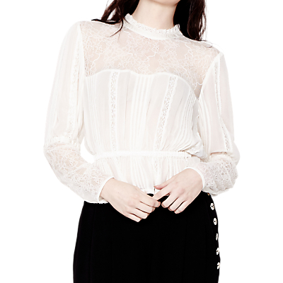 Victorian Style Blouses, Tops, Jackets Ghost Rosanne Georgette Blouse £165.00 AT vintagedancer.com