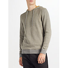 Buy Kin by John Lewis Plated Hoodie, Grey Online at johnlewis.com