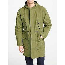 Buy JOHN LEWIS & Co. Parka Jacket, Khaki Online at johnlewis.com