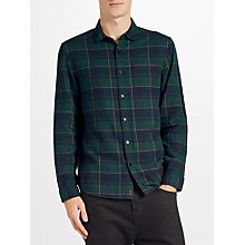 Buy Kin by John Lewis Window Pane Check Shirt, Green Online at johnlewis.com