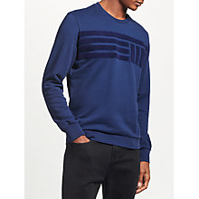 Buy Kin by John Lewis Boucle Stripe Sweatshirt Online at johnlewis.com