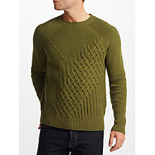 Buy JOHN LEWIS & Co. Patchwork Jumper Online at johnlewis.com
