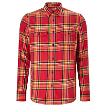 Buy JOHN LEWIS & Co. Mineral Check Shirt, Red Online at johnlewis.com