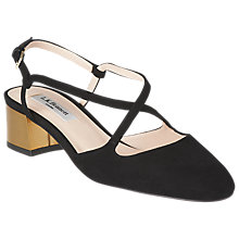 Buy L.K. Bennett Claudette Block Heeled Court Shoes Online at johnlewis.com