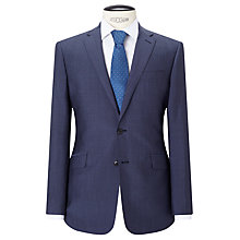 Buy Richard James Mayfair Wool Mohair Tonic Slim Suit Jacket, Blue Online at johnlewis.com