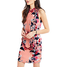 Buy Oasis Leaf & Rose Dress, Multi Online at johnlewis.com