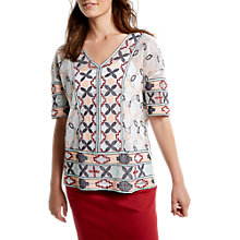Buy White Stuff Lisbon Embroidered Top, Multi Online at johnlewis.com