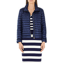 Buy Marc Cain Lightweight Down Quilted Jacket, Navy Online at johnlewis.com