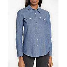 Buy Lee Sawtooth Western Shirt, Indigo Online at johnlewis.com