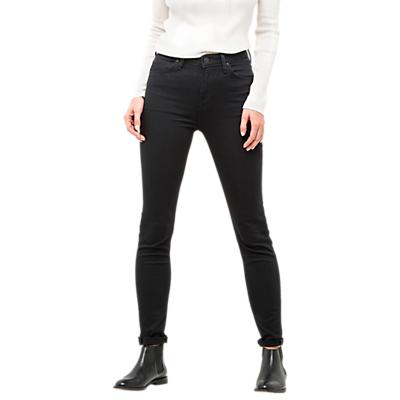 Lee Scarlett High Waist Skinny Jeans, Black Rinse