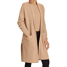 Buy Polo Ralph Lauren Cashmere Elongated Cardigan, Camel Melange Online at johnlewis.com