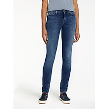 Buy Lee Scarlett High Waist Skinny Jeans, Night Fall Blue Online at johnlewis.com