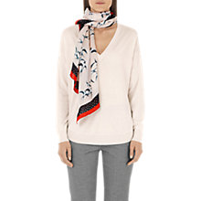Buy Marc Cain Silk Cashmere Jumper, Panna Online at johnlewis.com