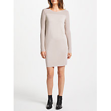 Buy Marc Cain Knitted Metallic Dress, Sandstone Online at johnlewis.com