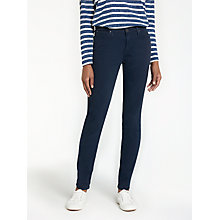 Buy Lee Elly Sateen High Waist Slim Jeans, Deep Pool Online at johnlewis.com