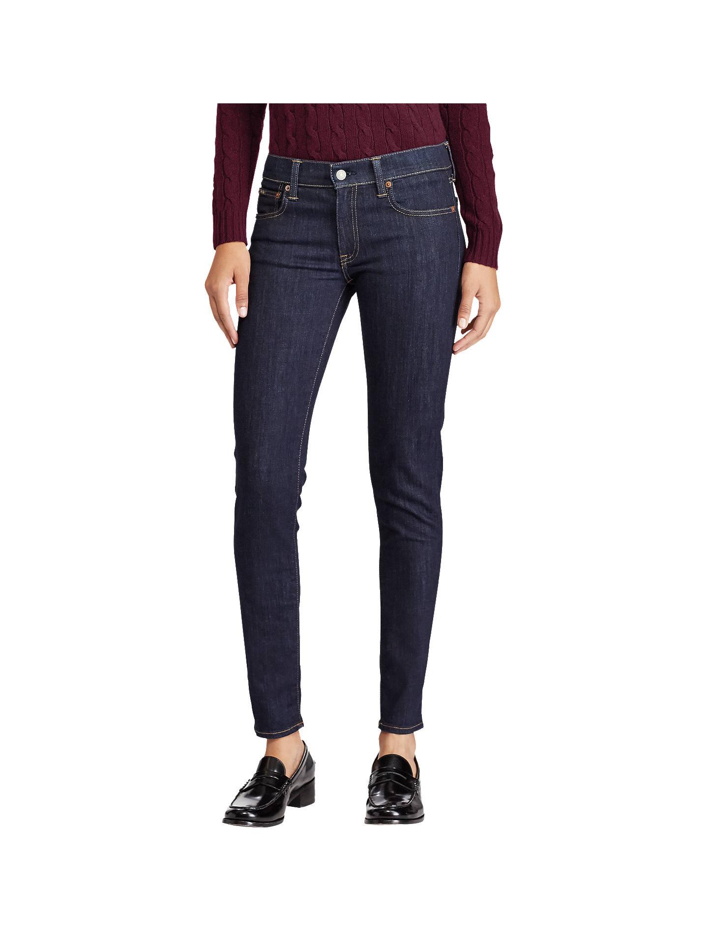 db9c9cb815 Polo Ralph Lauren Tompkins Skinny Jeans, Rinse at John Lewis & Partners