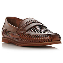 Buy Dune Brighton Rock Leather Loafers Online at johnlewis.com