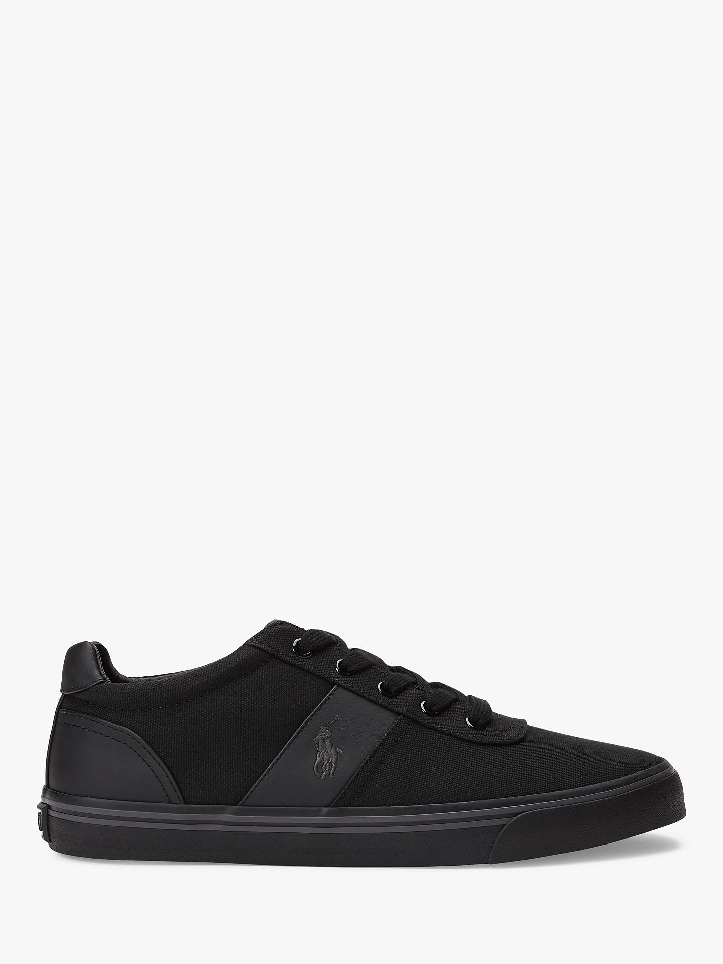 710e84de73ce Polo Ralph Lauren Hanford Canvas Trainers at John Lewis   Partners