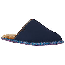 Buy Ted Baker Youngi Slippers, Dark Blue Online at johnlewis.com
