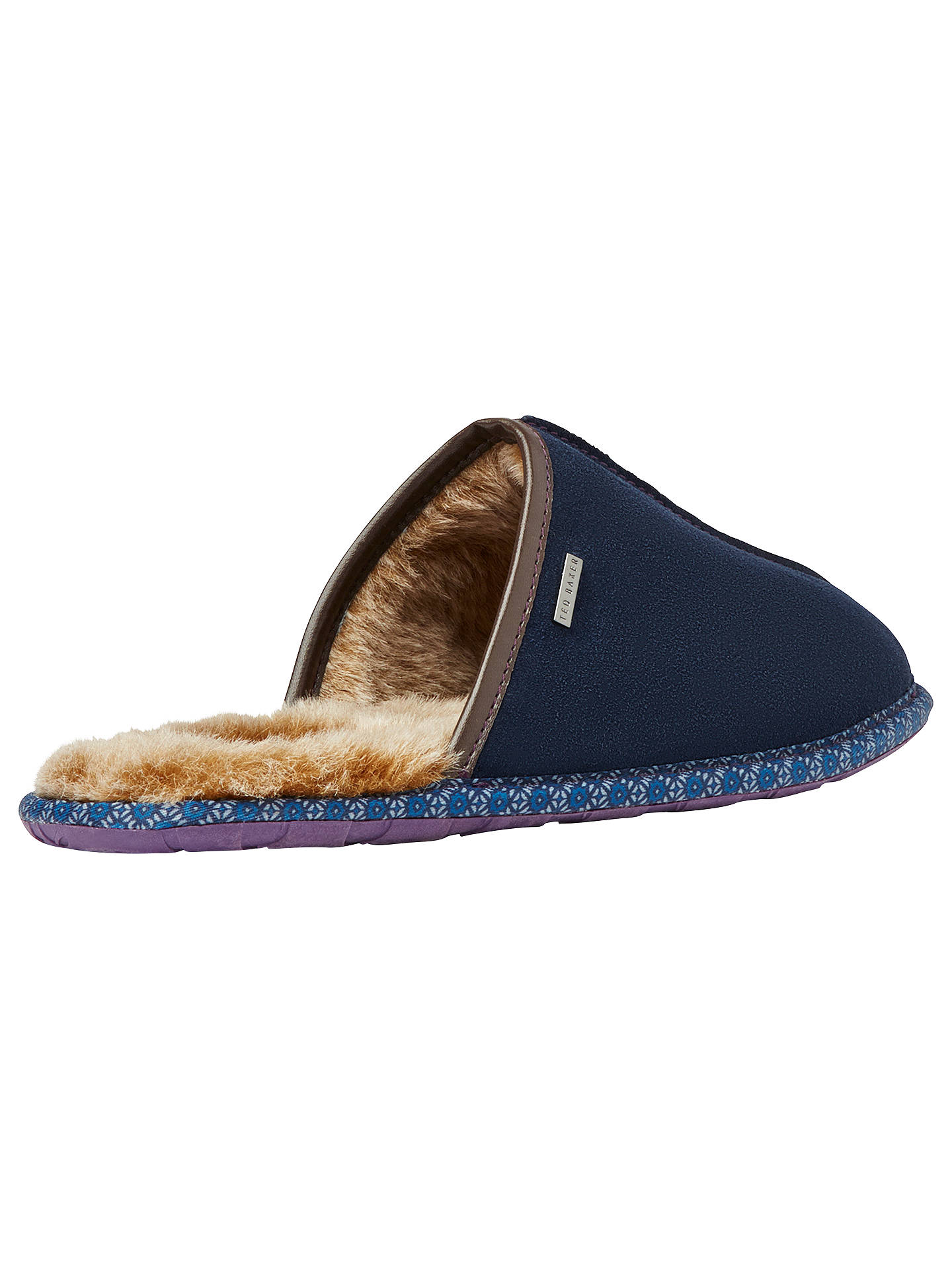 BuyTed Baker Youngi Slippers, Dark Blue, 7 Online at johnlewis.com