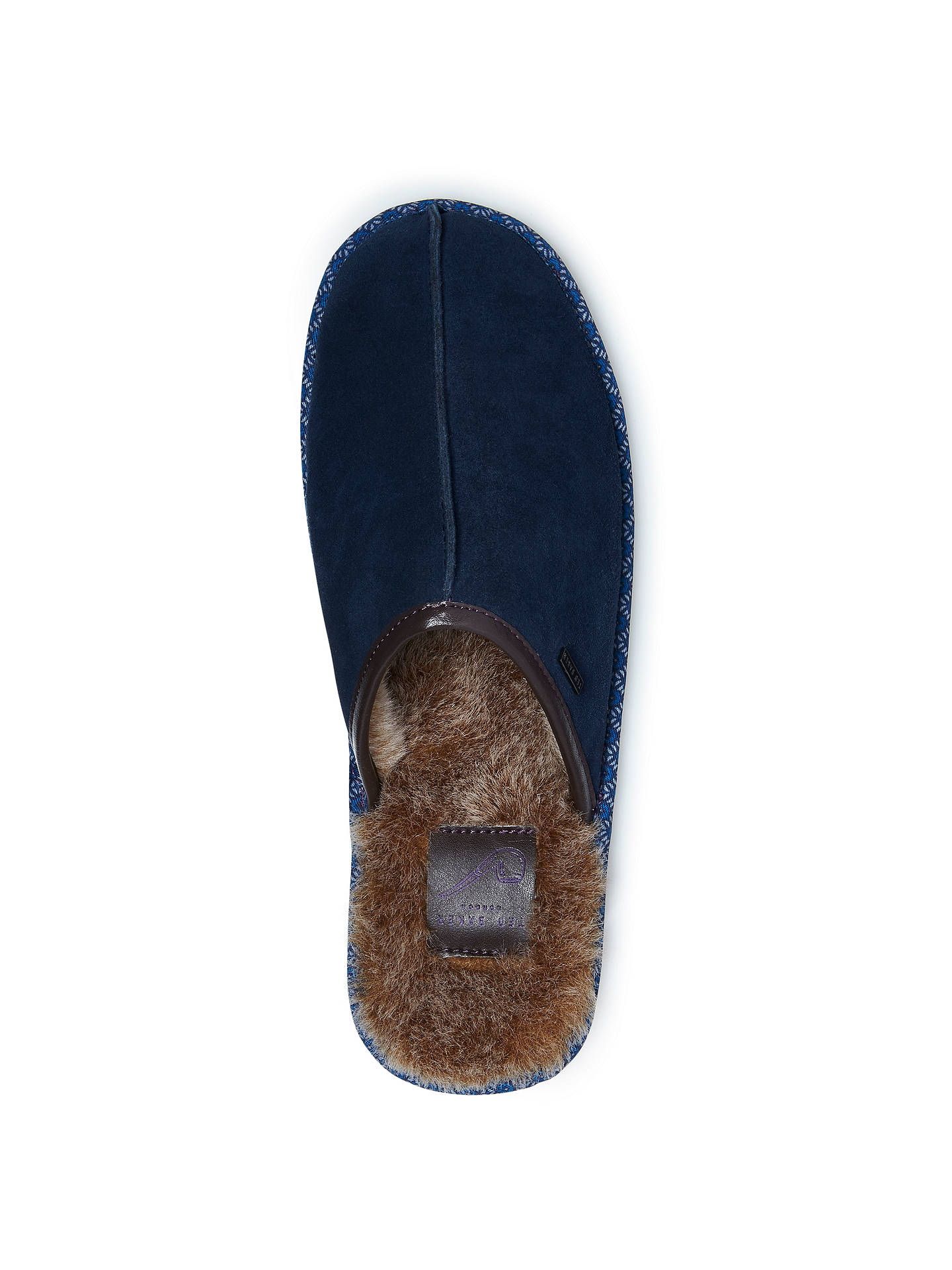Buy Ted Baker Youngi Slippers, Dark Blue, 7 Online at johnlewis.com