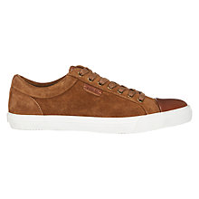 Buy Polo Ralph Lauren Geffrey Suede Lace-Up Trainers, Snuff Online at johnlewis.com