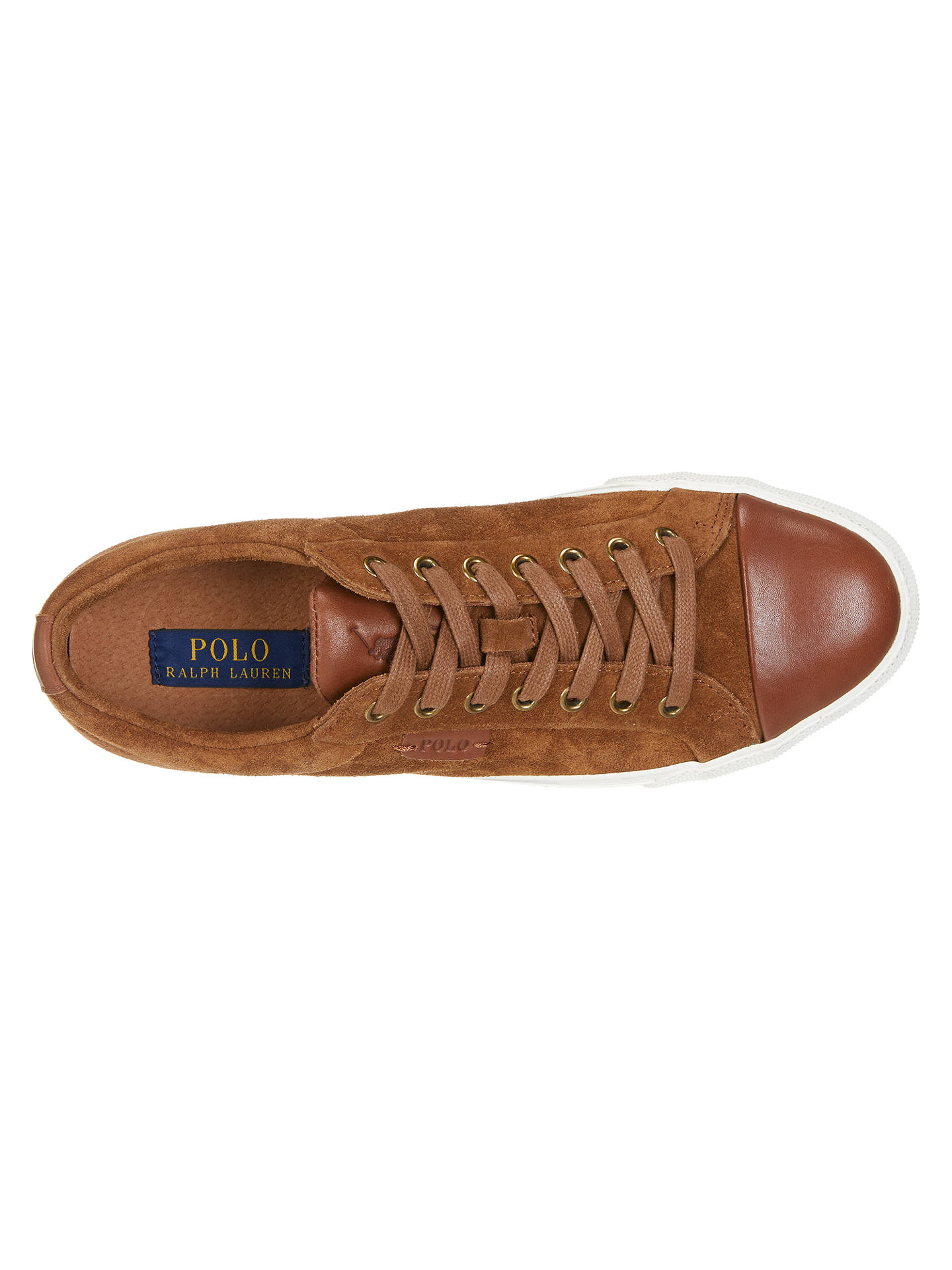 Geffrey John Lace TrainersSnuff Polo Suede Lauren Up At Ralph SUqzMVpG