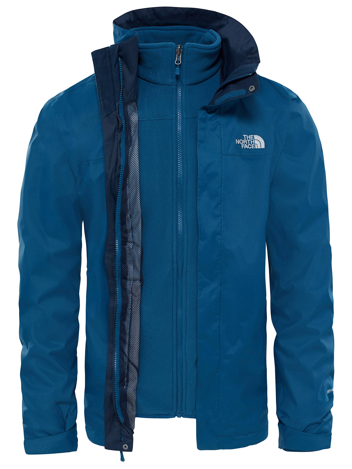 367b02cf0 The North Face Evolve II Triclimate 3-in-1 Waterproof Men's Jacket ...