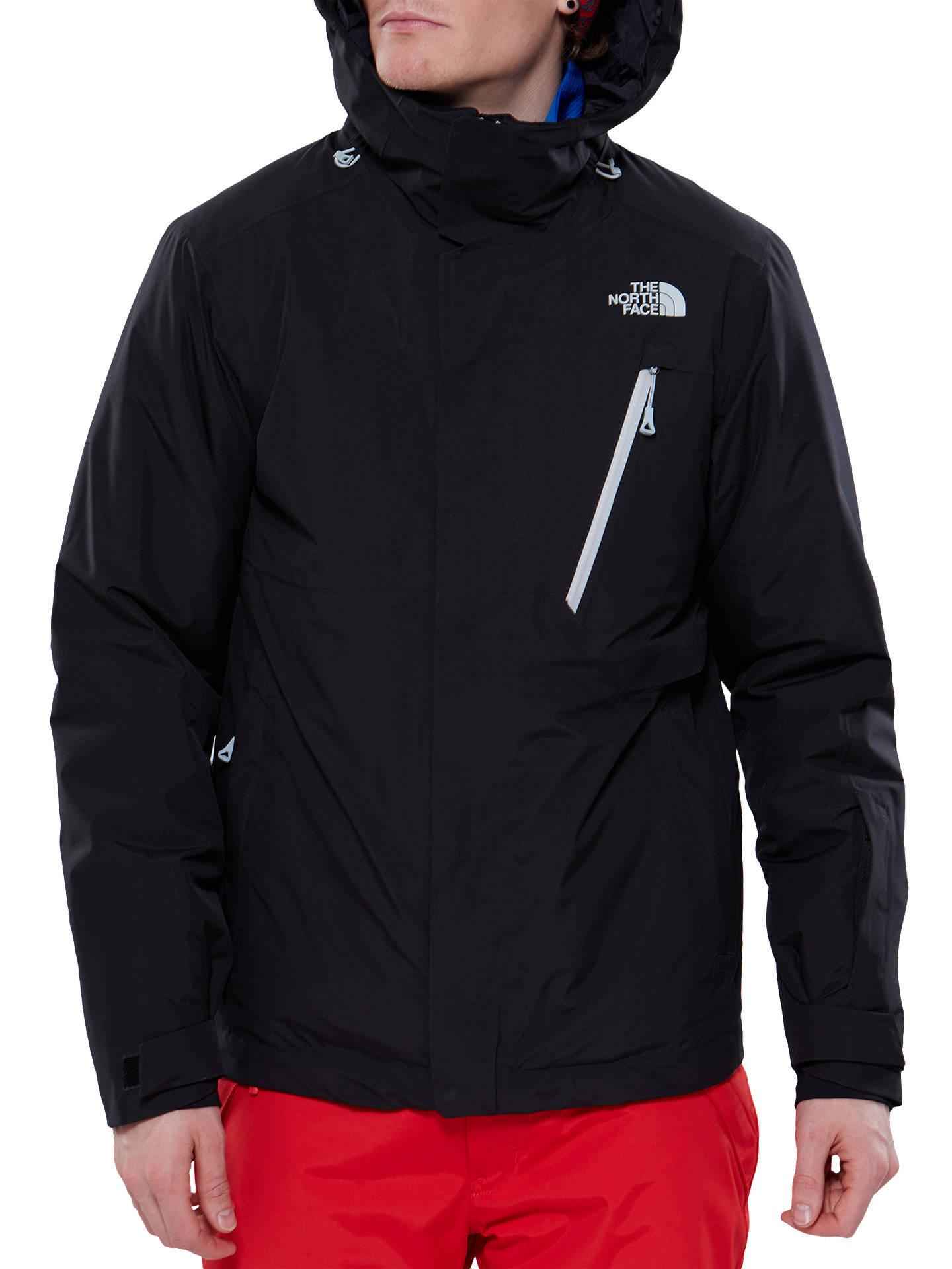 833349c46 The North Face Descendit Waterproof Men's Jacket, Black at John ...