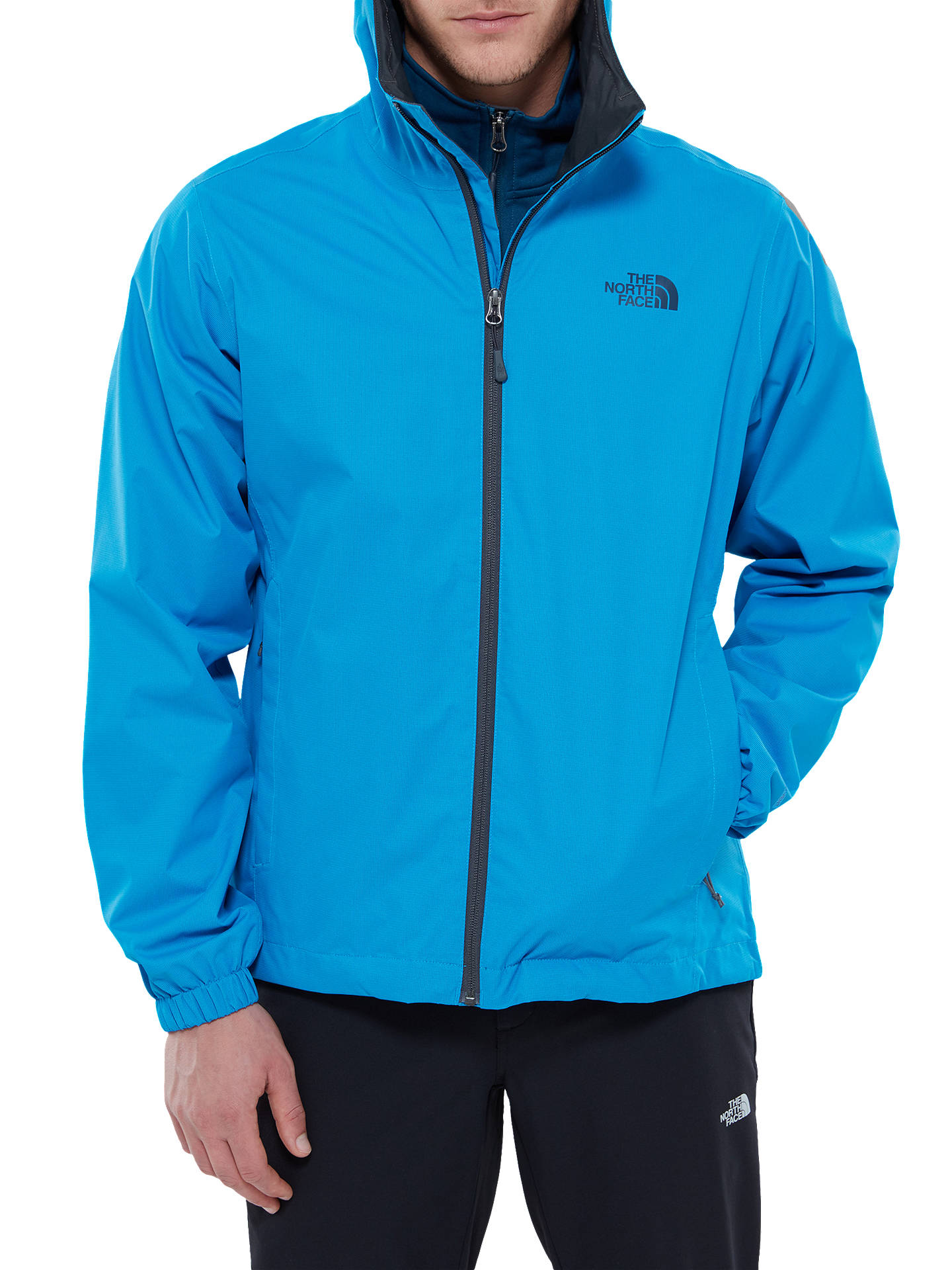 497c7d2c0 The North Face Quest Men's Waterproof Jacket, Blue at John Lewis ...