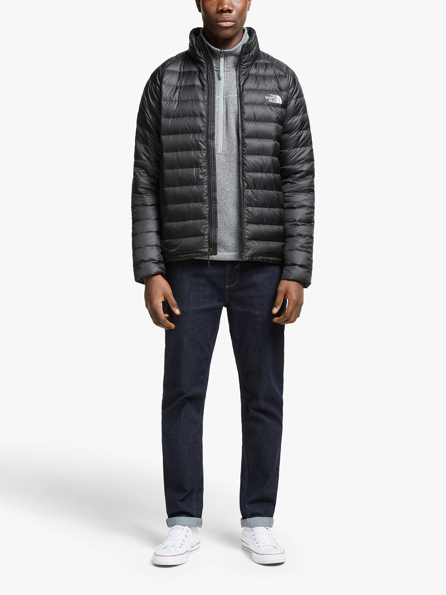 The North Face Men S Waterproof Trevail Jacket Black At John Lewis