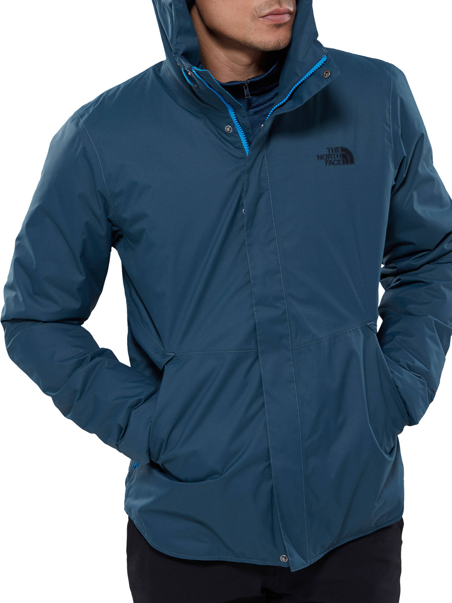 f3e5650db The North Face Thermoball Shell Insulated Men's Jacket, Conquer Blue ...