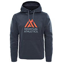 Buy The North Face Surgent Graphic Hoodie, Heather Grey Online at johnlewis.com