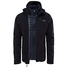 Buy The North Face Thermoball Triclimate 3-in-1 Insulated Waterproof Men's Jacket, Black Online at johnlewis.com